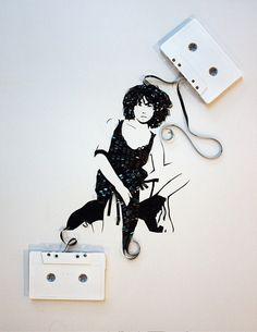 Ghost in the Machine- Maggie Cheung by iri5, via Flickr
