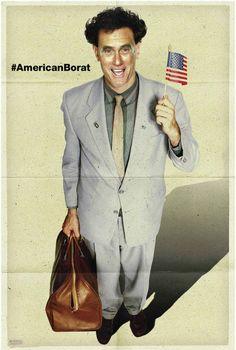 Mitt Romney, American Borat