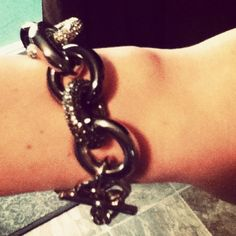 Michael Kors pave link bracelet! 2 yr anniversary gift from my boyf. <3