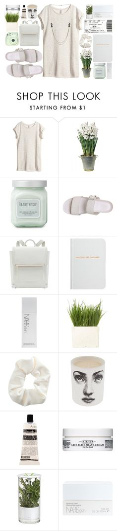 """Gloria"" by brenna-kaye ❤ liked on Polyvore featuring mode, H&M, BULB, Laura Mercier, Vagabond, Archie Grand, NARS Cosmetics, Linea, Topshop en Fornasetti"