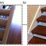 removing carpet on open staircases-wood afterwards
