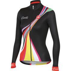 0bb00184d Castelli Viva Long Sleeve Women s Jersey Cycling Wear