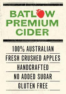 Batlow Premium Cider, NSW
