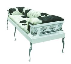 Couches made from recycled Coffins
