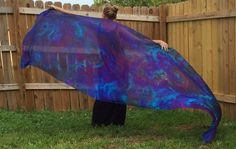 The berry patch silk veil for bellydance