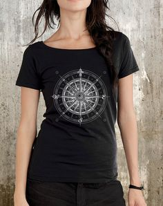 Hey, I found this really awesome Etsy listing at http://www.etsy.com/listing/156182822/nautical-compass-t-shirt-organic-womens
