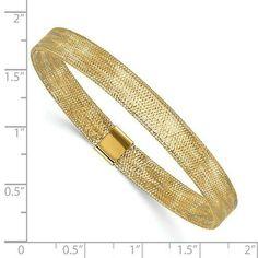 """14K Solid Pink Rose Gold Tubular Stackable Bangle Bracelet 8/"""" 2mm wide"""