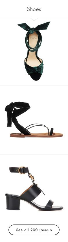 """Shoes"" by bliznec ❤ liked on Polyvore featuring shoes, sandals, alexandre birman sandals, alexandre birman, alexandre birman shoes, blue high heel shoes, wrap shoes, high heel ankle strap shoes, leather shoes and high heeled footwear"