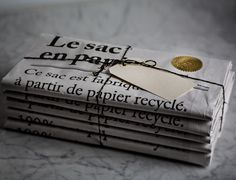 I am stocking 'le sac en papier' or 'the paper bag' in my big cartel shop. They are such an adorable storage piece that I simply .