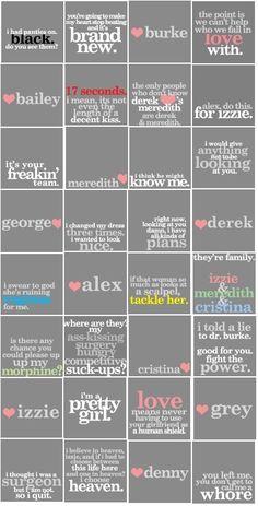 Grey's Anatomy = <3 <3 <3