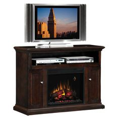 Electric Fireplaces On Pinterest Electric Fireplaces Mantels And Media Consoles