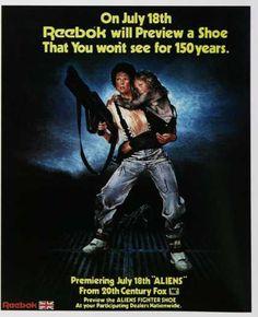 Reebok Aliens Fighter Shoe (1980s)