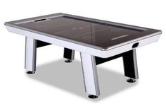 Dusty air hockey table