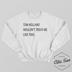 Stark, I Don't Feel So Good Sweatshirt Tom Holland Shirt Spiderman T-shirt Tony Stark Clothing for Men Women Unisex Spiderman Outfit, Spiderman Shirt, Marvel Shirt, Marvel Sweatshirt, Sweat Shirt, Crew Neck Sweatshirt, Graphic Sweatshirt, Tom Holland Shirt, Tony Stark