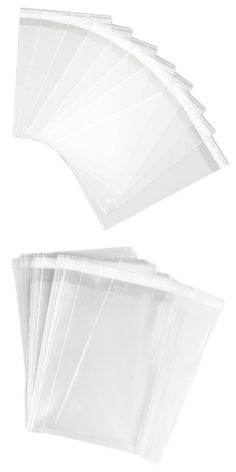 Cellophane 170102: Mycraftsupplies 9X12 Inch Resealable Clear Cello Bags - Tape On Lip (Flap) Set O -> BUY IT NOW ONLY: $50.95 on eBay!