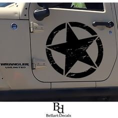 08252ec37cc8 Jeep decal Jeep sticker Jeep stickers Wrangler Jeep star Jeep girl decal  Jeep decals military Jeep p