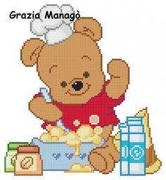 Winnie The Pooh che cucina - Le crocette di Grazia