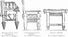 Assyrian chairs