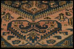 Close up of an antique north Persian rug.  Henide@hotmail.com
