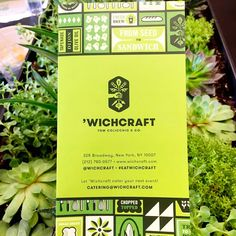 New Logo and Identity for 'Wichcraft by Tag Collective