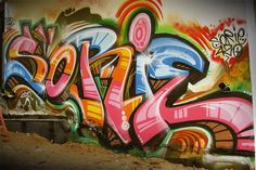 When typography meets street art: 60 top-notch examples of freehand graffiti letters