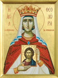 Theodora,  Empress, wife of emperor Theophilus the Iconoclast - February 11