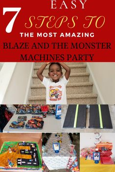 Blaze and the Monster Machines party:Little one obsessed with Blaze? Birthday party coming up? Plan the ultimate Blaze and the Monster Machines party with these 7 easy steps. Easy on the budget, but heavy on the fun amazing 3rd Birthday, Birthday Parties, Birthday Ideas, Blaze And The Monster Machines Party, Party Favor Bags, Goodie Bags, Party Themes, Party Ideas, Party Planning