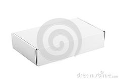 White Paper Box On White Background - Download From Over 50 Million High Quality Stock Photos, Images, Vectors. Sign up for FREE today. Image: 80491493