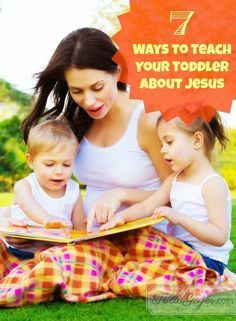As a Christian, the most important thing I want to teach my child is Jesus' love. But how do I ensure my child intakes Jesus? Will he learn by osmosis from seeing my faith played out in everyday life? I hope my faith makes enough of a difference in my everyday walk that he does see it. But I also want to be intentional.