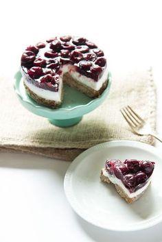 Gezonde variant: Monchoutaart. Op basis van Griekse yoghurt of kwark en havermout, en een topping van (vers) fruit.