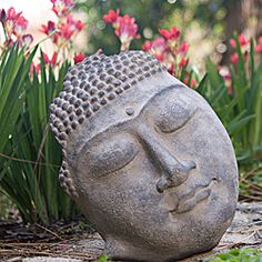@Overstock - This lovely garden accent will make the perfect addition to either indoor or outdoor decor. The beautiful statue depicts the pleasant, serene face of Buddha in handcrafted cast stone. http://www.overstock.com/Worldstock-Fair-Trade/Stone-12-inch-Buddha-Face-Statue-Indonesia/5117735/product.html?CID=214117 $36.49