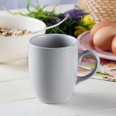 Kubek ceramiczny AFFEK DESIGN SENCILLO SZARY 250 ml