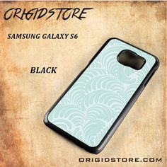 Cool Wafe Pattern Black White Snap On Or 3D For Samsung Galaxy S6