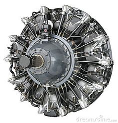 Nice radial engine with a Hamilton Standard Woodward Governor hydraulic single acting control.
