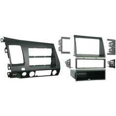 Metra 99-7871 Honda(R) Civic 2006-2011 Double-Din/Iso-Din With Pockets Installation Kit