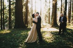 Love this couple's photography. Check out their webpage!  first kiss tilt shift wedding photo
