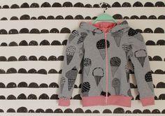 handmade girls hoodie