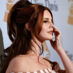 Lana Del Rey on the red carpet