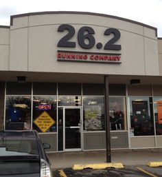 26.2 Running Company, a store in that caters to specifically to runners. Located in Provo at 1270 North State Street.