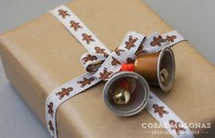 DIY Campanillas con cápsulas de café recicladas / DIY  Bells with recycled Coffee capsules
