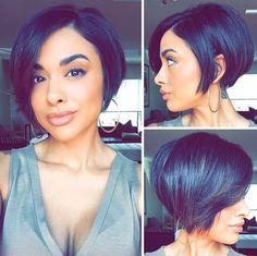 Love this cut @beautybyrachelrenae - Black Hair Information Community