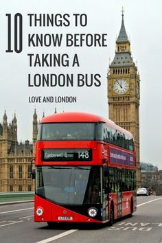 Top tips for taking a London bus. Learn how to pay for a ride on a London double decker bus, how to get the bus to stop for you, how to know when to get off a London bus, and more!
