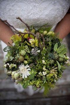 super textural whimsical bouquet