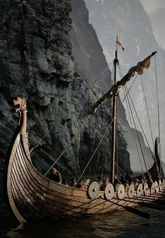 Image discovered by Grotesque. Find images and videos about viking on We Heart It - the app to get lost in what you love. Viking Life, Viking Art, Viking Warrior, Viking Aesthetic, Viking Longship, Viking Reenactment, Viking Culture, The Last Kingdom, Viking Ship
