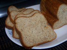 Gabi's Low Carb Yeast Bread - EXCELLENT! Use your bread machine! Low Cab