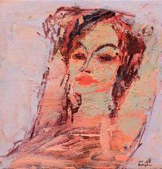 Untitled 2, 2015, Acrylic on canvas, 47x45cm