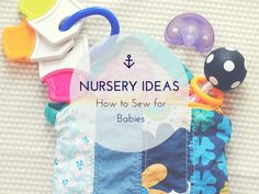 Do you have a little one on the way, or know someone who does? One of the most exciting parts of welcoming a new life into the family getting the house ready. If you are looking for creative, home-made preparations for a new baby, then Nursery Ideas: How to Sew for Babies is your ideal resource!