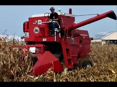 Antique International Plowing and Harvesting