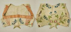 Silk bodice, Met Museum