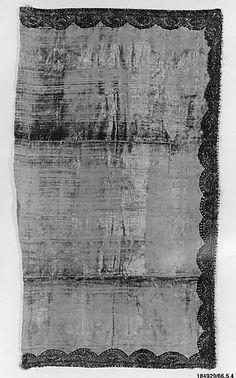 Panel Date: 18th century Culture: European Medium: Silk, metal thread Accession Number: Inst.66.5.4